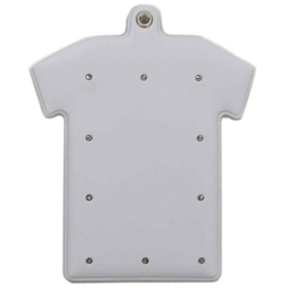 画像1: OEM 光るパスケース LED10灯 Tシャツ型(塩ビ) (1)
